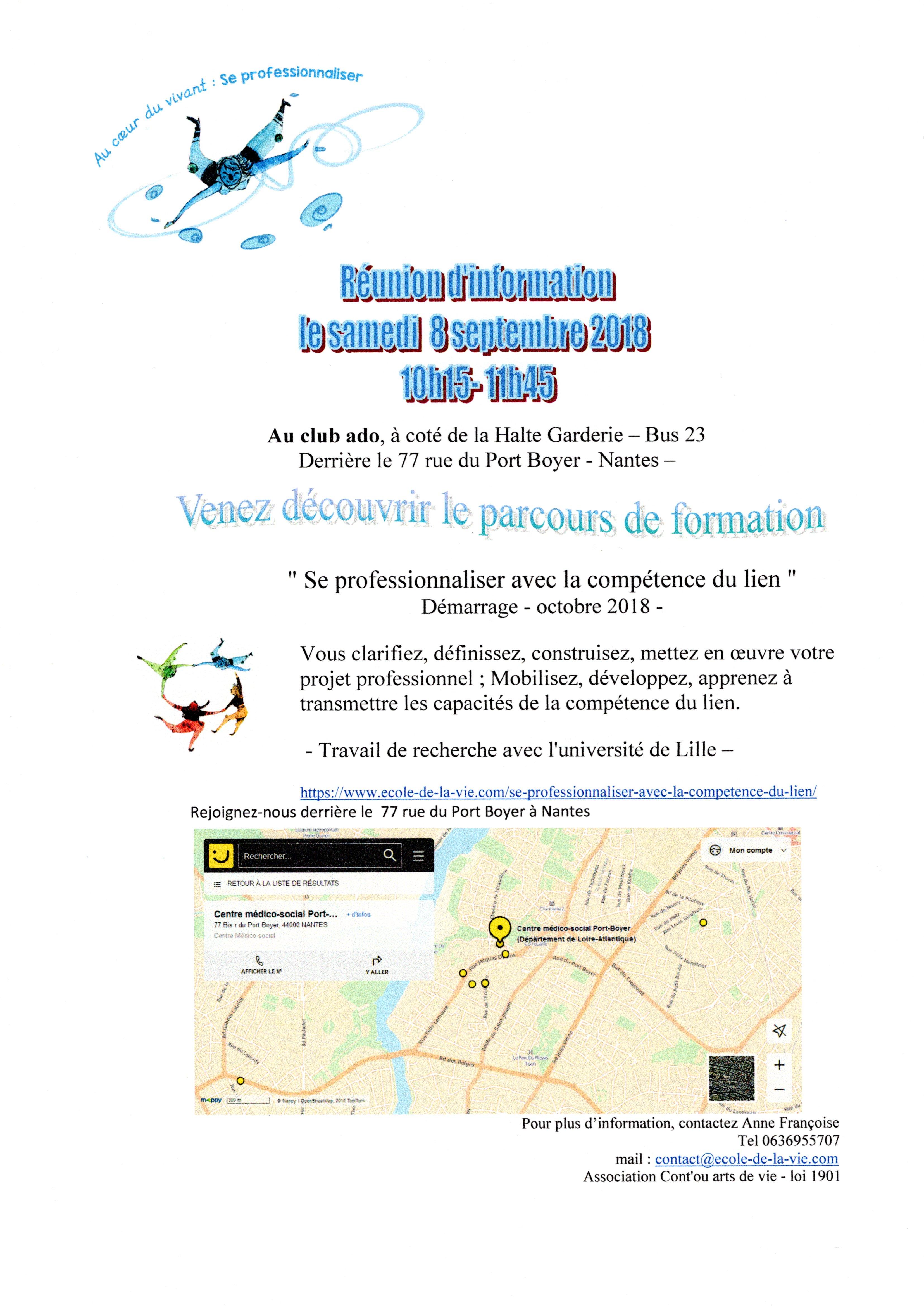 PROCHAINE RÉUNION D'INFORMATION